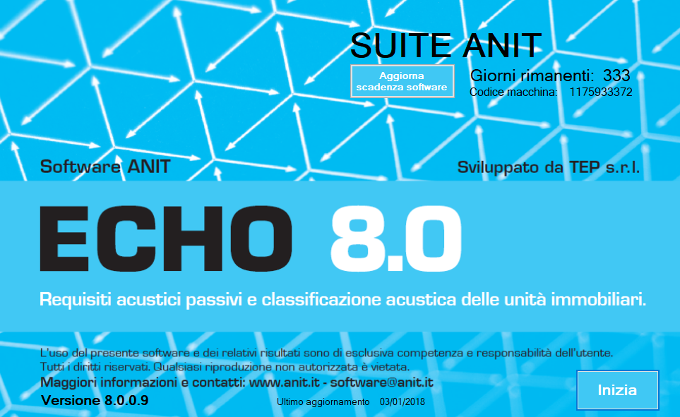 Software ECHO acustica